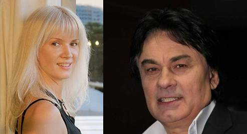 Александр Серов и бывшая жена Елена Стебенева