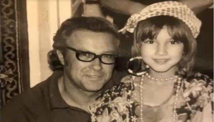 Лера Кудрявцева показала своего папу