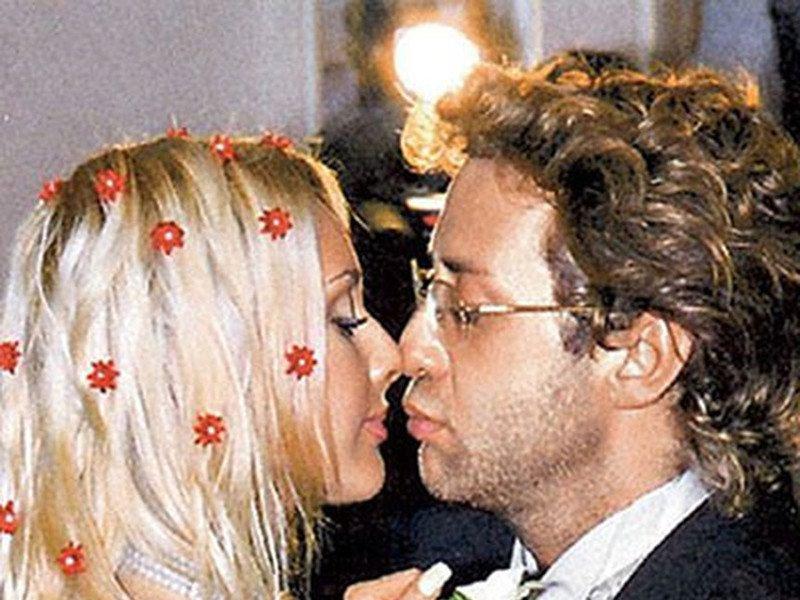 Лера Кудрявцева со вторым супругом, бизнесменом Матвеем Морозовым