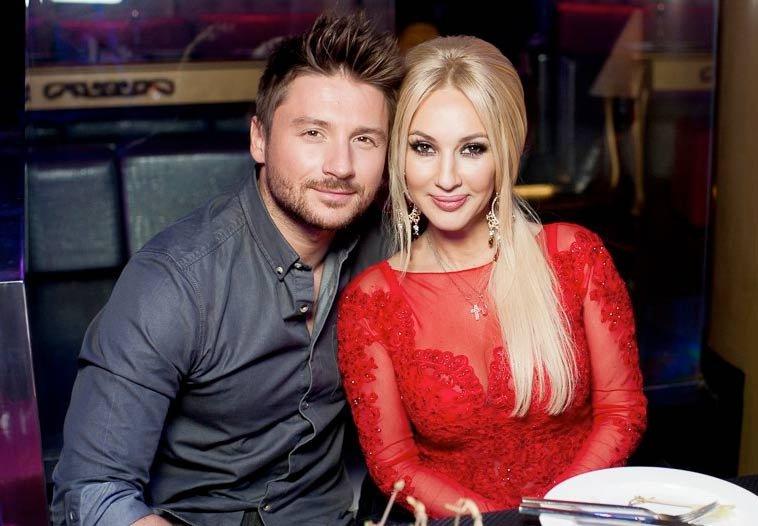 Самая обсуждаемая пара российского шоу-бизнеса Сергей Лазарев и Лера Кудрявцева