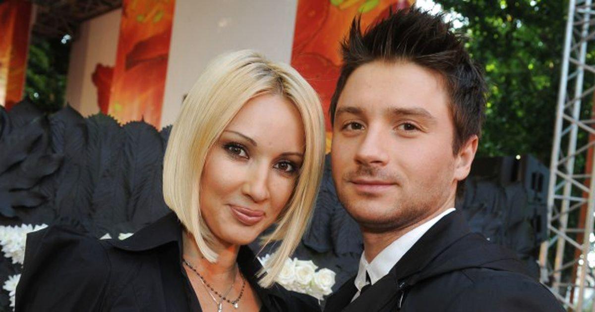 Лера Кудрявцева и певец Сергей Лазарев