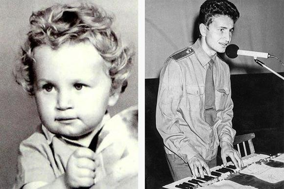 Леонид Агутин в детстве