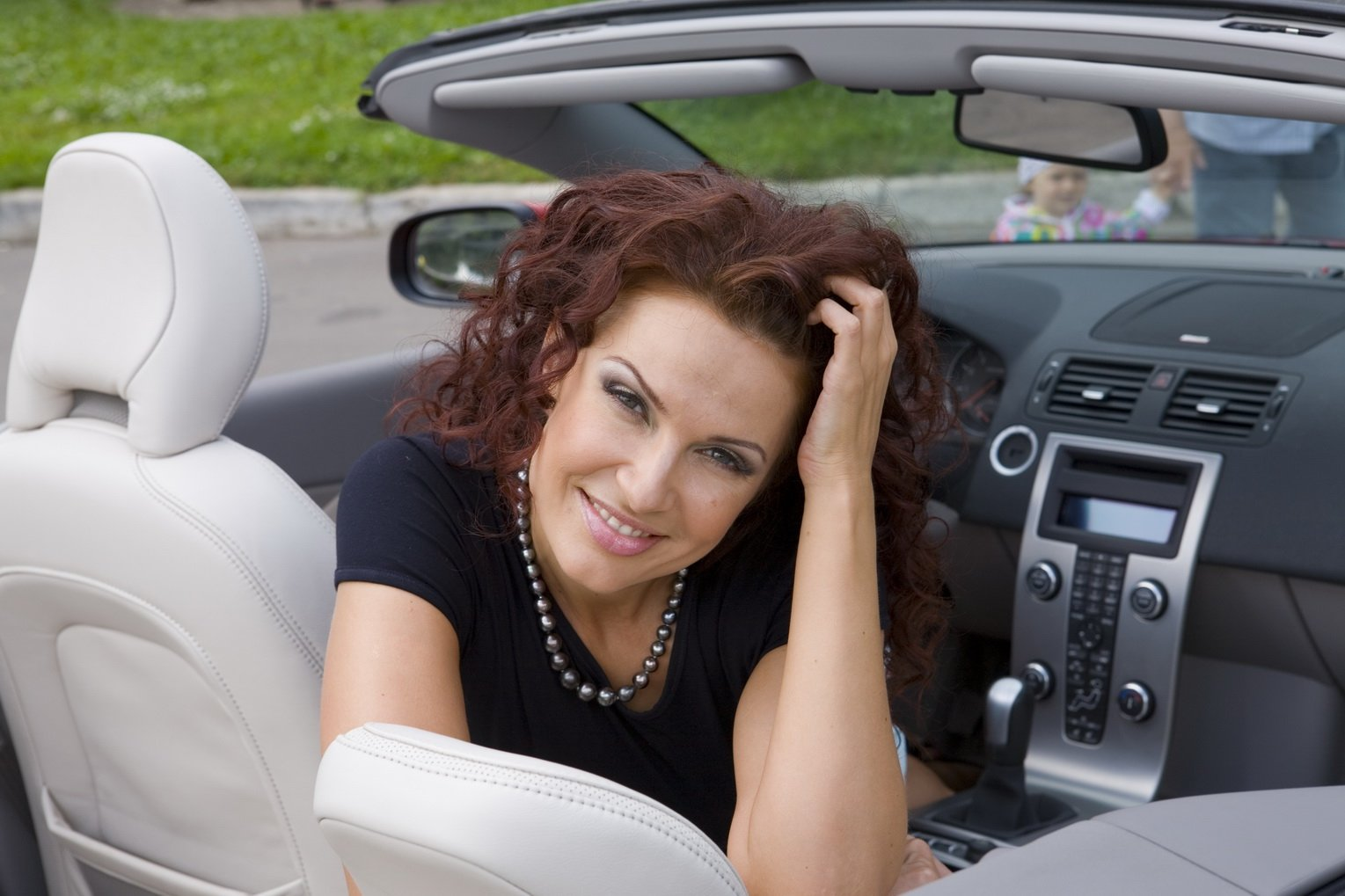 В авто