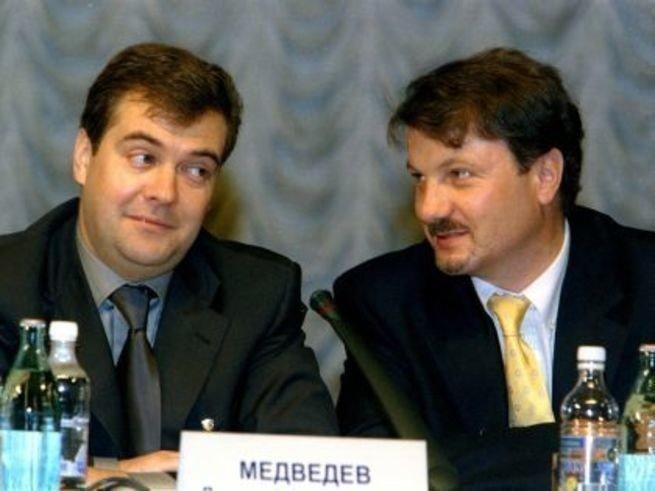 Греф и Медведев