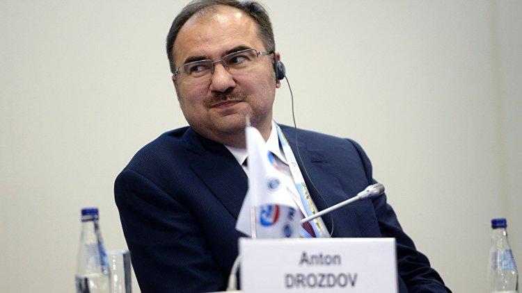Глава ПФР Антон Дроздов