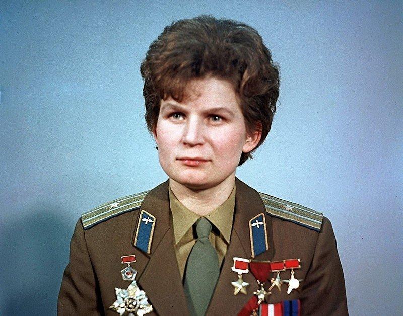 первая в мире женщина-космонавт (1963)