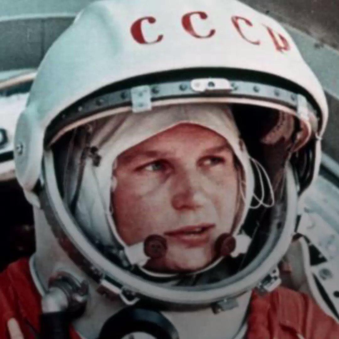 Валентина Терешкова.- первая женщина - космонавт СССР