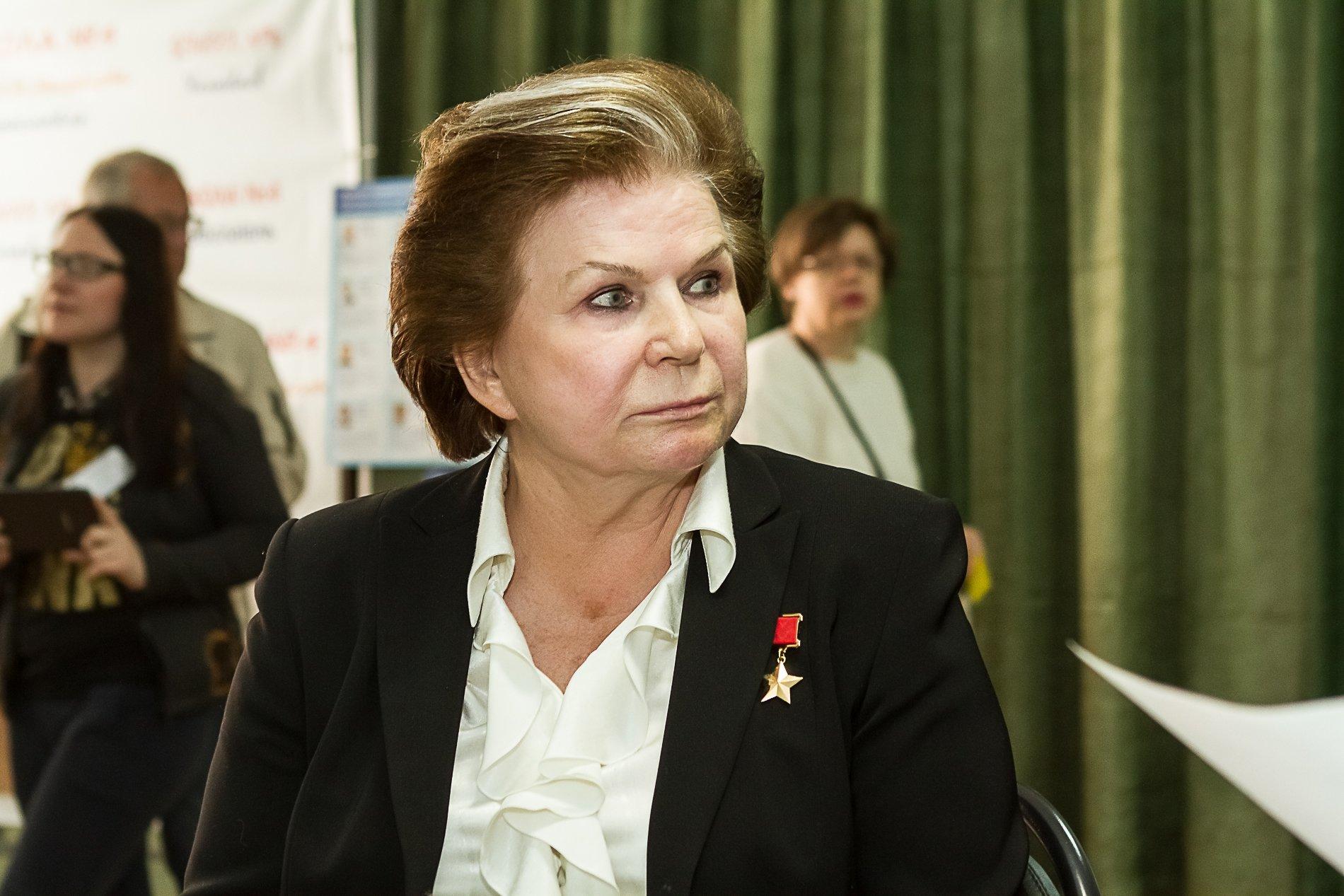 Валентина Терешкова в Ярославле