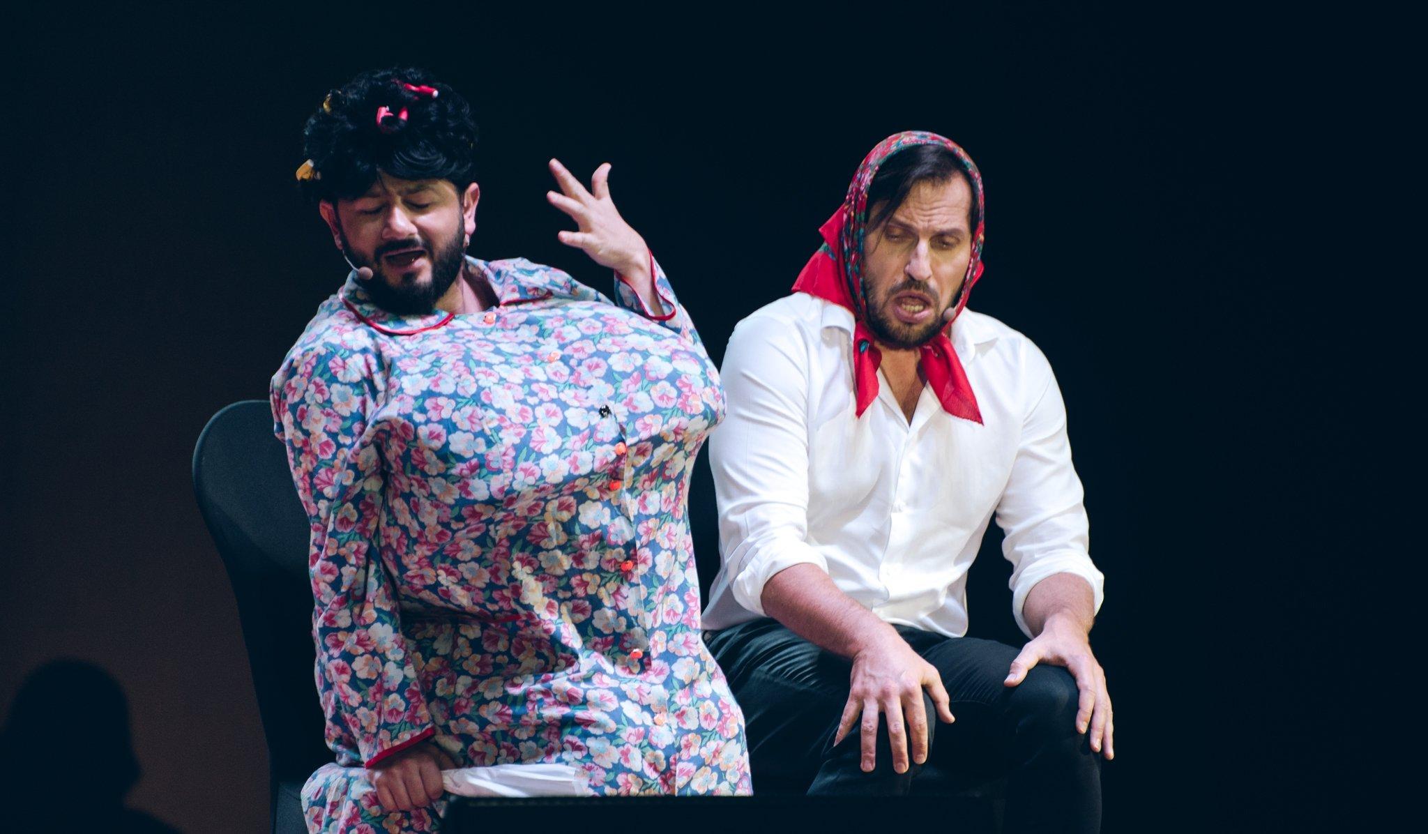Культовые резиденты Comedy Club Галустян и Ревва