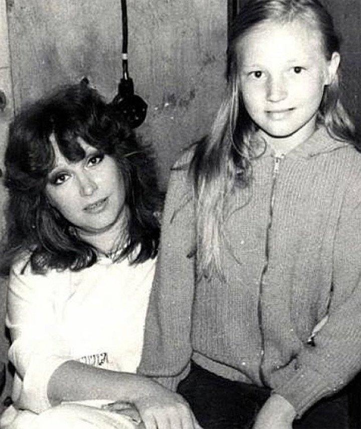 Кристина Орбакайте с матерью - Аллой Пугачёвой