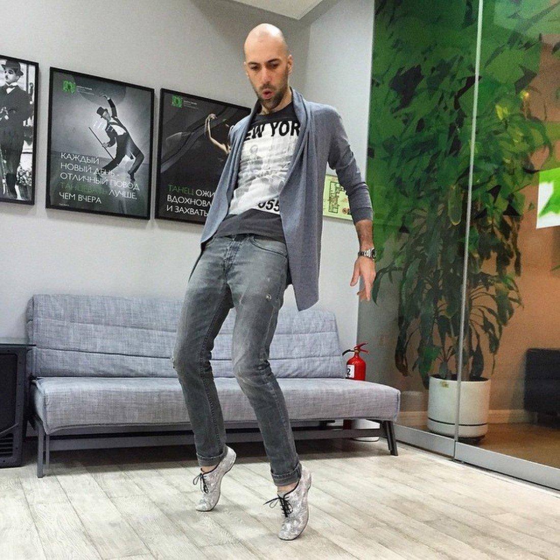 Евгений Папунаишвили.хореограф