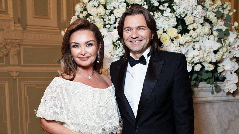 Дмитрий с женой Еленой Маликовой