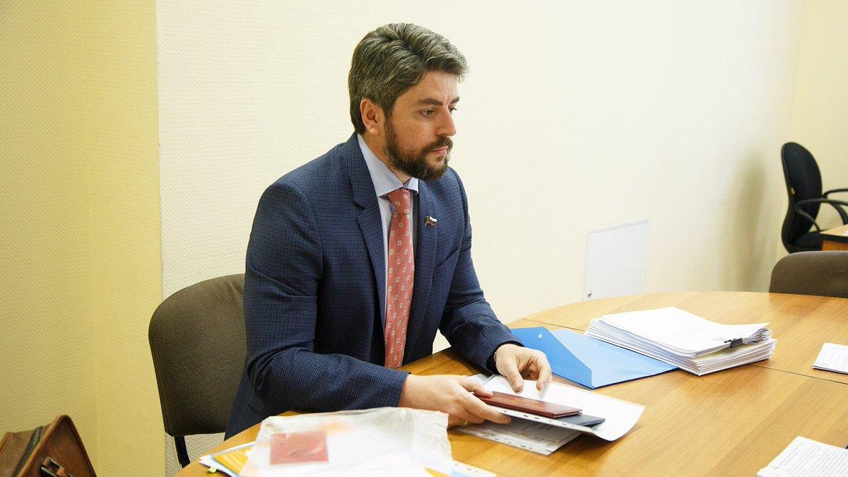 Илья Свиридов кандидат в мэры