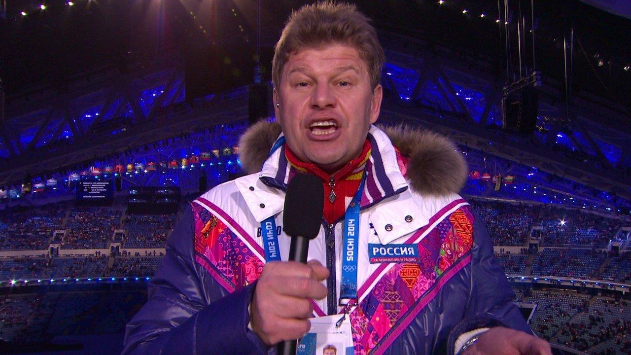 Спортивный комментатор -Губерниев Дмитрий