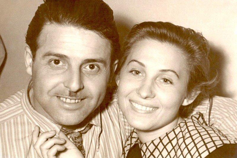 Михаил Танич и Лидия Козлова в молодости
