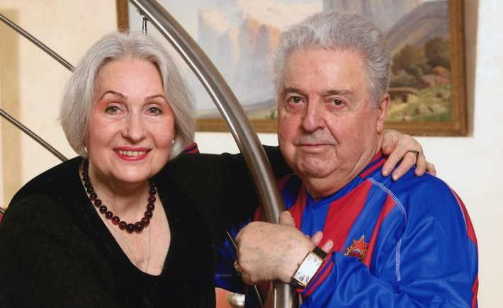 Михаил Тинич и Лидия Козлова