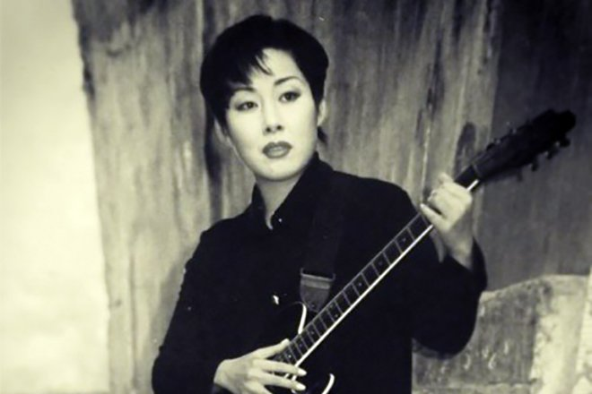 Анита Цой (Ким) в молодости