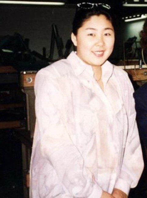Анита Цой в молодости