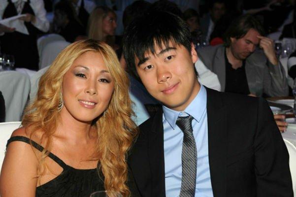 Анита с сыном Сергеем