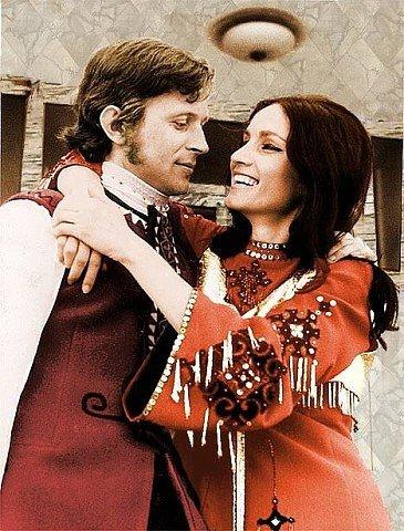 София Ротару с мужем Ангатолием Евдокимовым