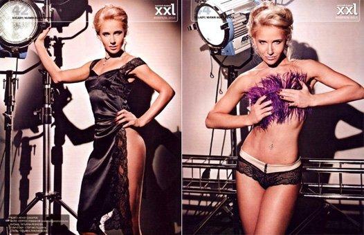 Юлия Ковальчук в журнале XXL