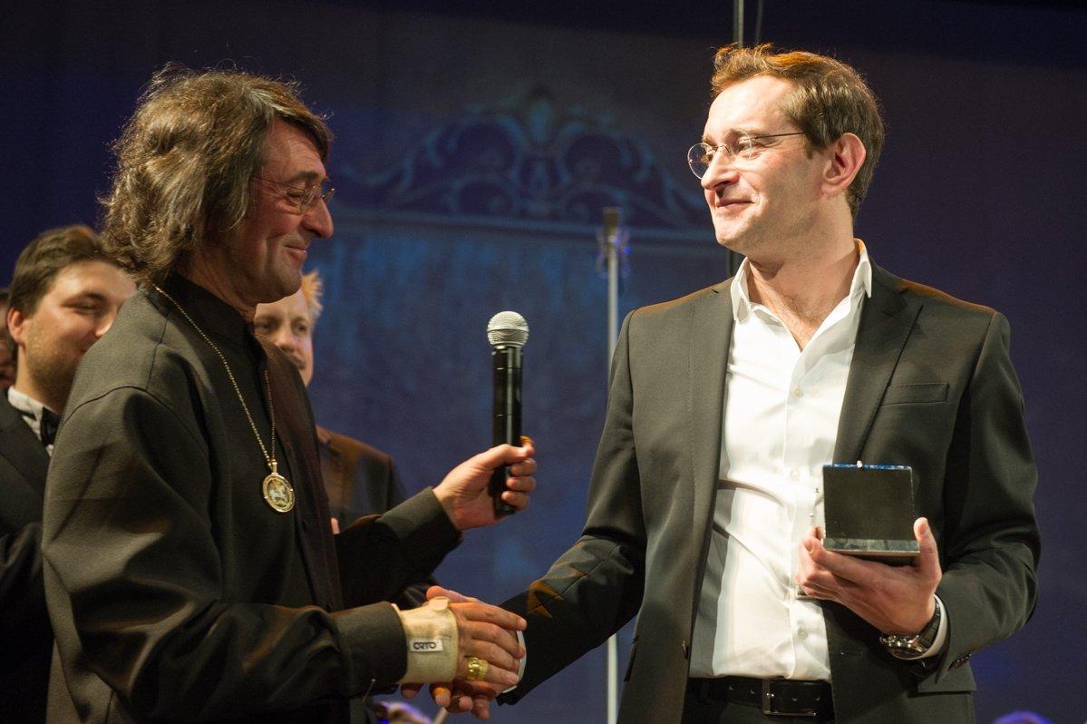 Константину Хабенскому была вручена главная награда Фестиваля Башмета