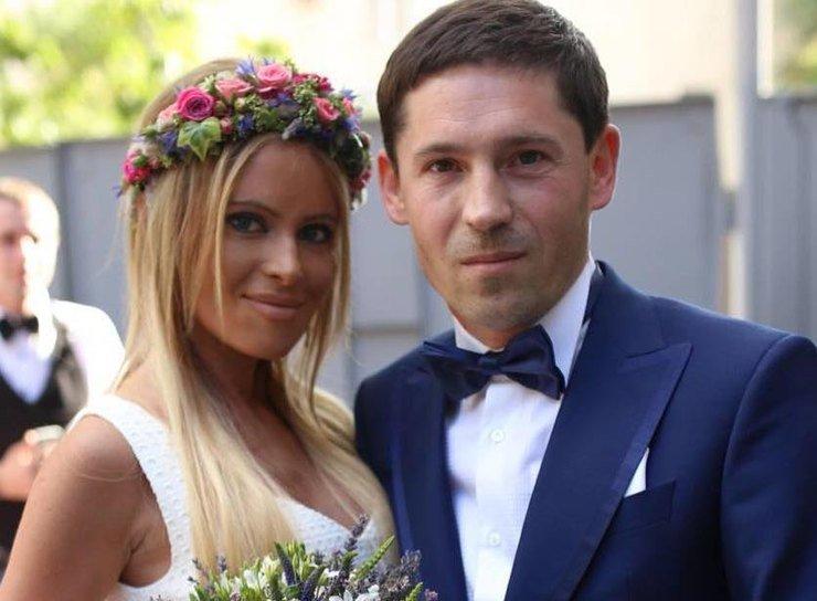Дана Борисова и ее мужМуж даны Борисовой Андрей Трощенко