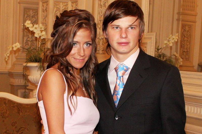 Аршавин и Юлия Барановская
