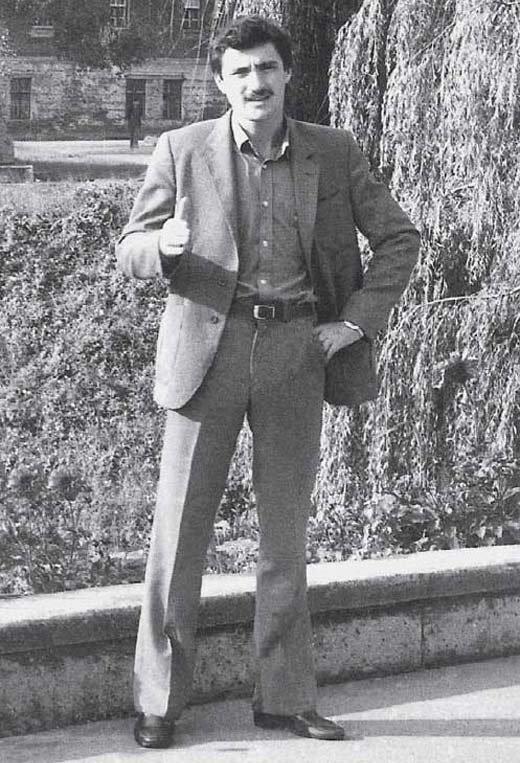 Михаил Турецкий в молодости