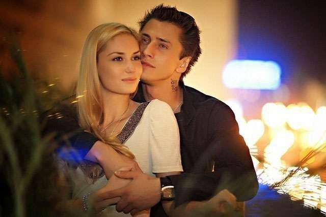 Агата Муцениеце (Прилучная) с мужем Пашей Прилучным