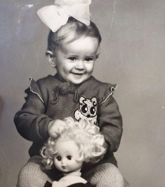 Рита Дакота в детстве