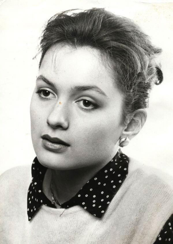 Мария Порошина - российская актриса театра и кино в молодости