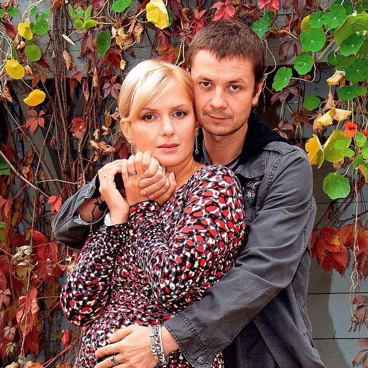 Мария Порошина и муж Илья Древнов