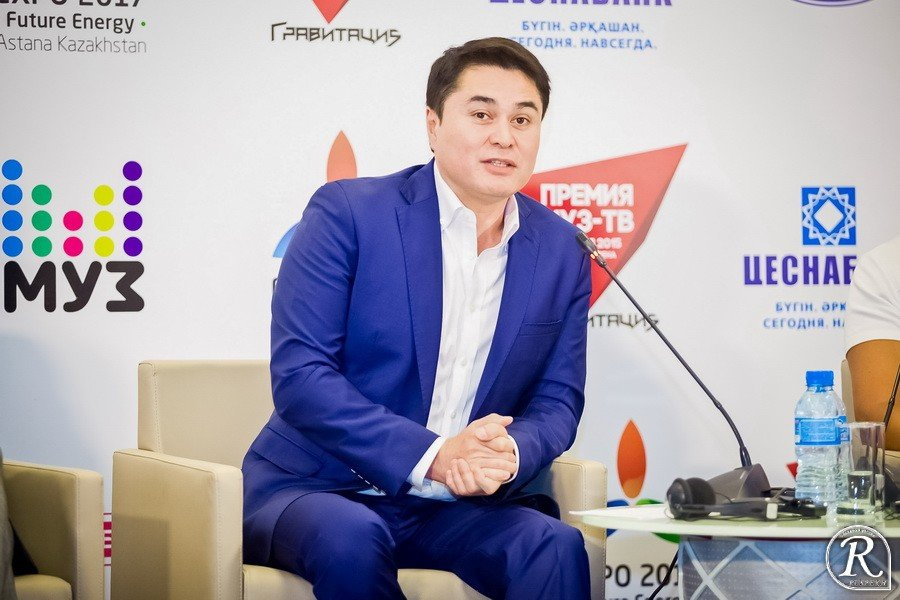 ДАВЛЕТЯРОВ Арман Илюбаевич гендиректор Муз -ТВ