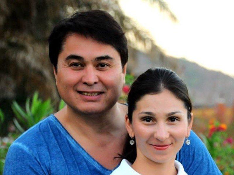 Арман Давлетьяров с женой