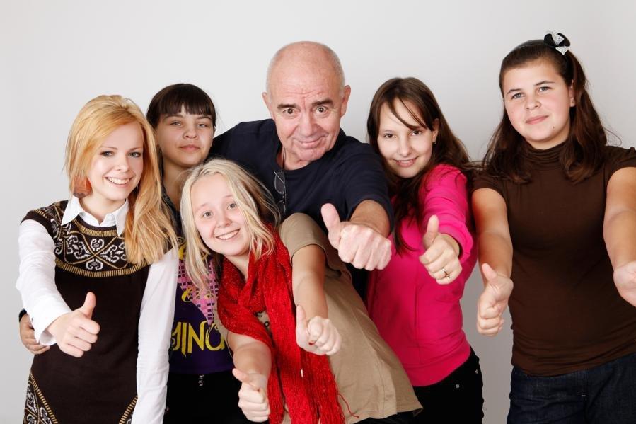 Валерий Магдьяш  дал мастер -класс в центре детсткого творчества