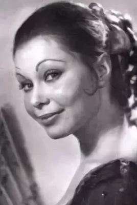 Ольга Богданова в молодости
