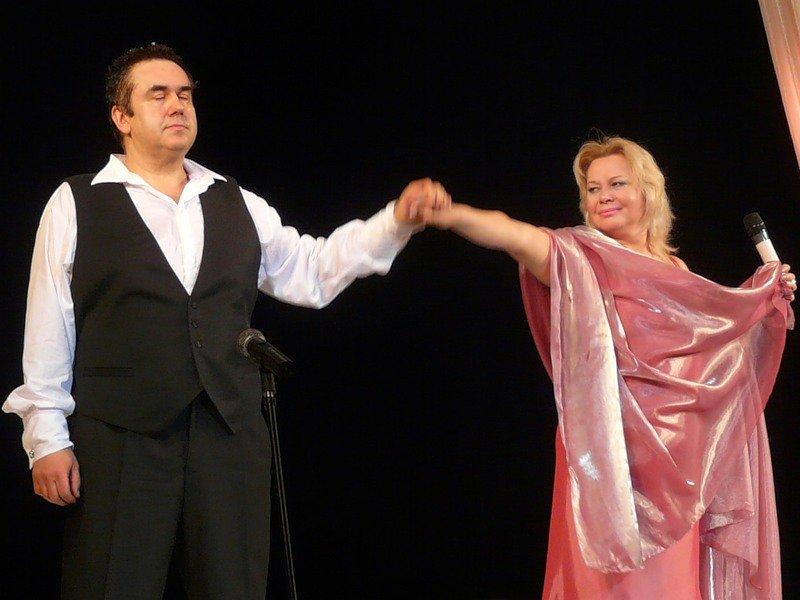 Ольга Богданова и Стас Садальский
