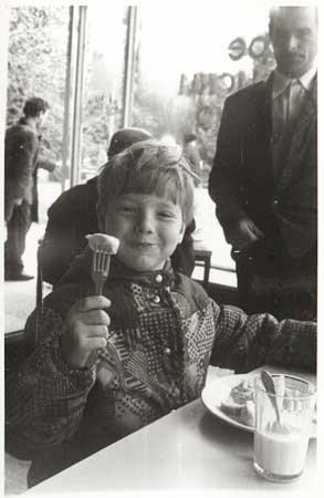 Андрей Григорьев-Апполонов в детстве