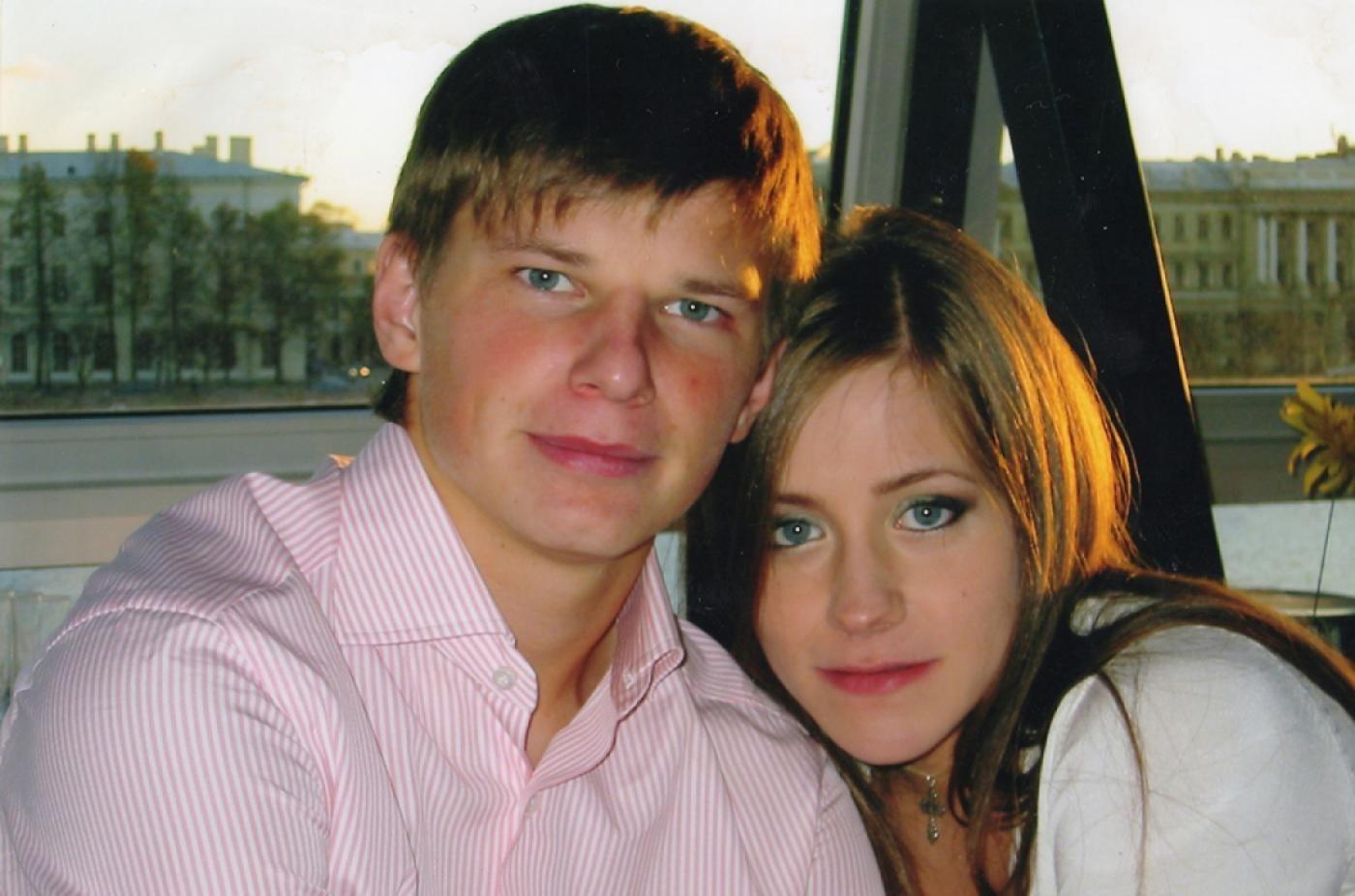 Юлия Барановская с Аршавиным
