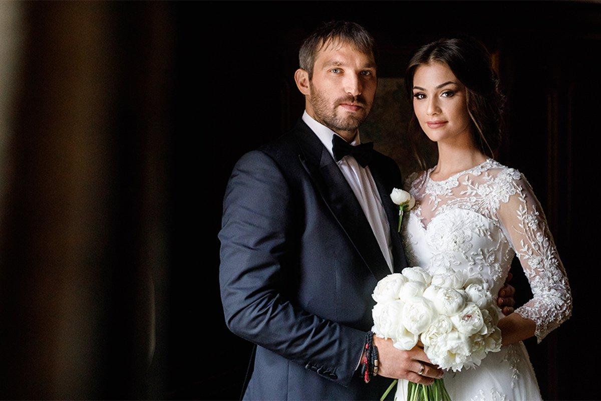 Анастасия Шубская и Овечкин свадьба