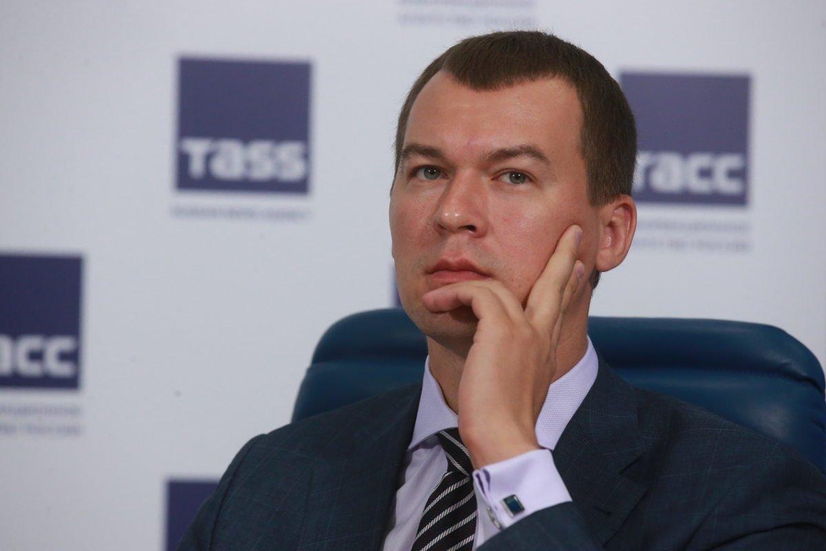 Депутат ГД от ЛДПР Михаил Дегтярев