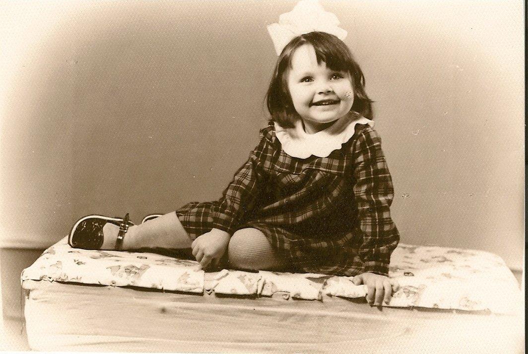 Наталья Антонова в детстве