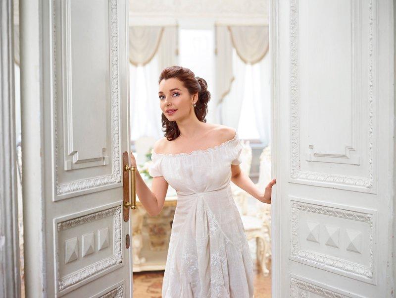 Наталья Антонова в образе Наташи Ростовой
