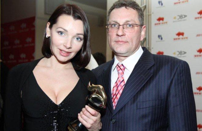 Антонова Наталья с мужем Николай Семенов