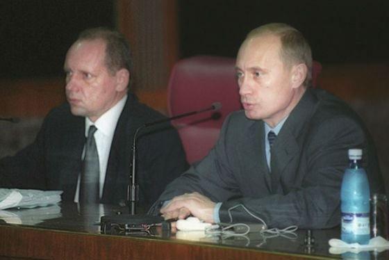 Громов и Путин