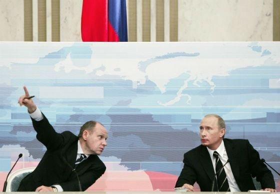 Алексей Громов пресс-секретарь Путина