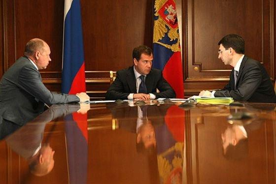 Алексей Громов у Медведева