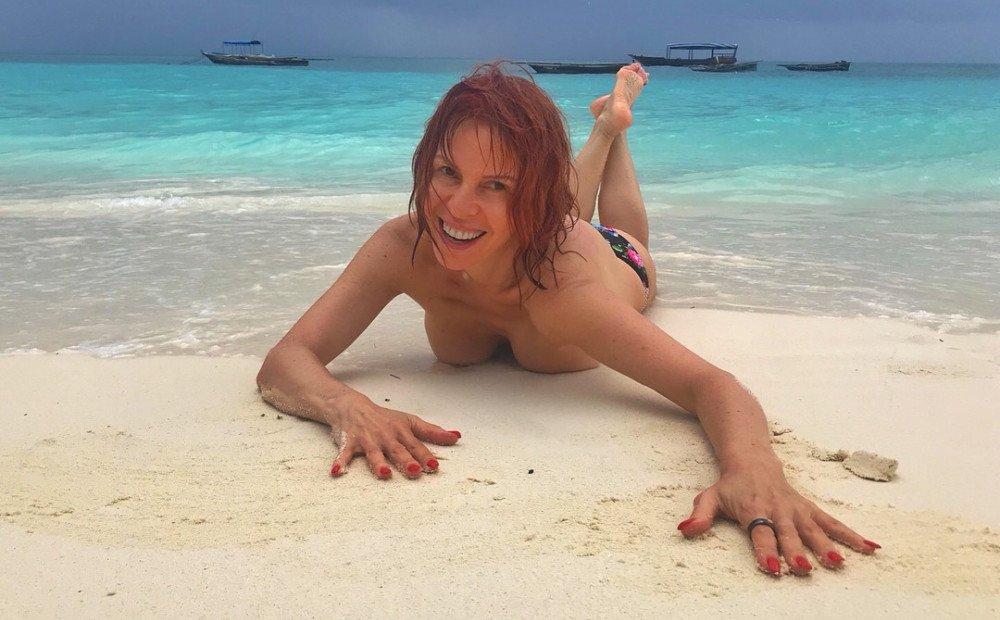 Наталья Штурм любит выкладывать откровенные фото