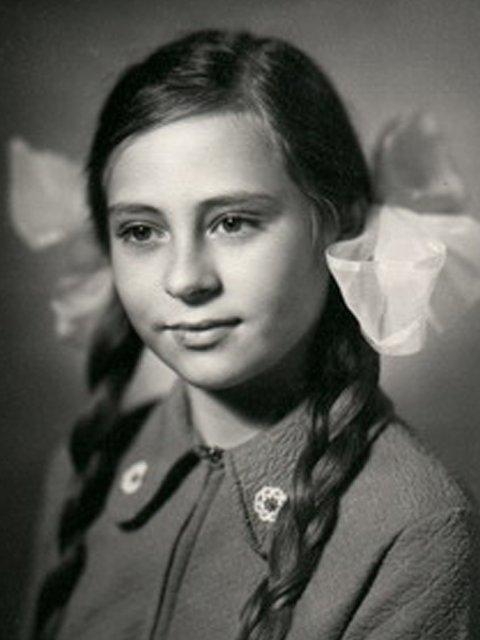 Марина Хлебникова в детстве